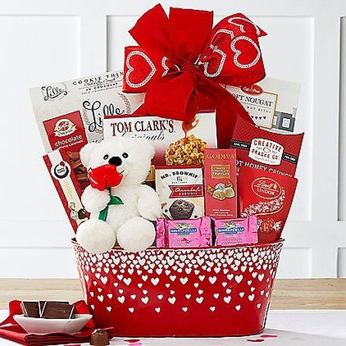 Valentines Day Gift Basket A Love So Sweet