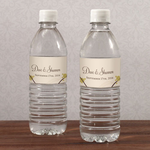 Love Bird Water Bottle Label Spring (Pack of 1)