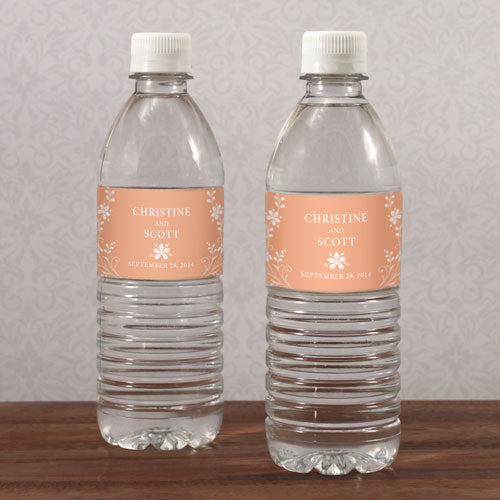 Forget Me Not Water Bottle Label Ruby (Pack of 1)