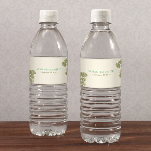Evergreen Water Bottle Label Berry (Pack of 1)