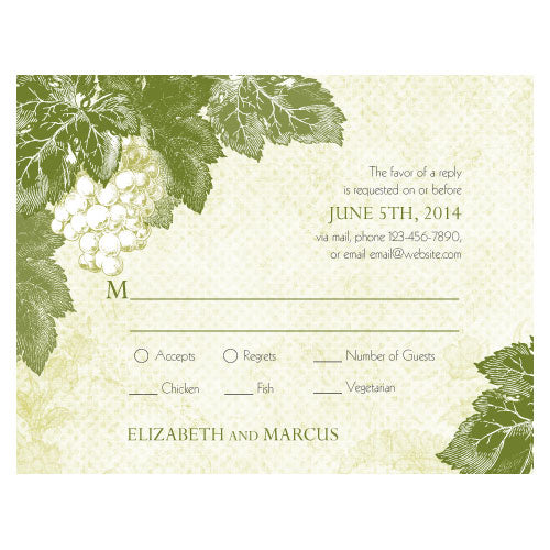 A Wine Romance RSVP Berry (Pack of 1)