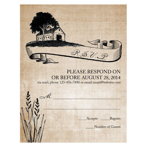 Rustic Country RSVP Berry (Pack of 1)