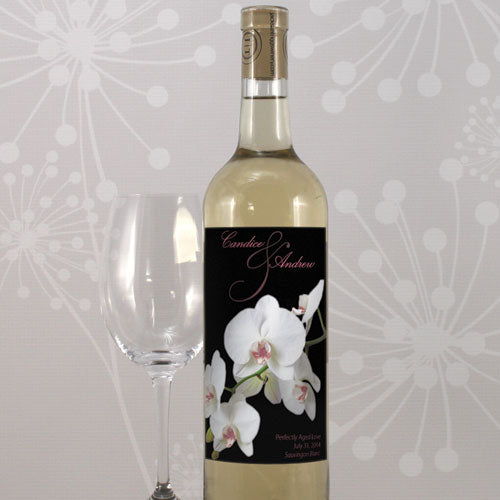 Classic Orchid Wine Label Plum (Pack of 1)