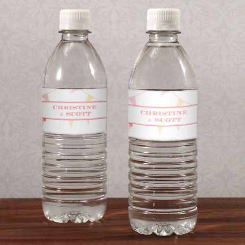 Homespun Charm Water Bottle Label Sweet (Pack of 1)
