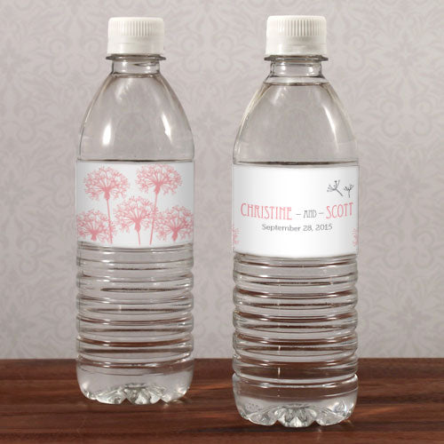 Dandelion Wishes Water Bottle Label Berry (Pack of 1)