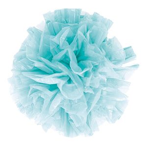 Just Fluff Colored Plastic Poms Package of 25 Poms Peach (Pack of 1)