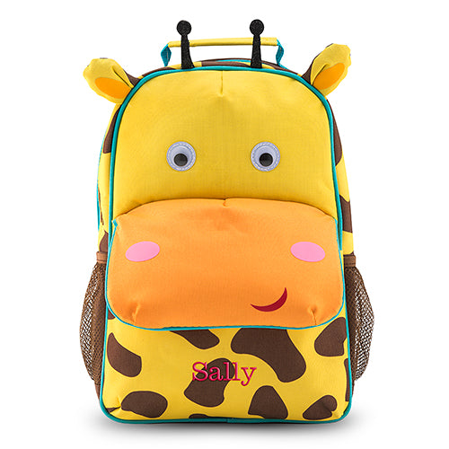 Personalized Kids' Backpack - Giraffe (Pack of 1)