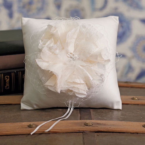Beverly Clark La Fleur Collection Ring Pillow (Pack of 1)