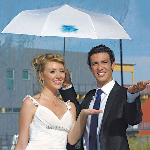 Wedding Umbrella In White (Pack of 1)