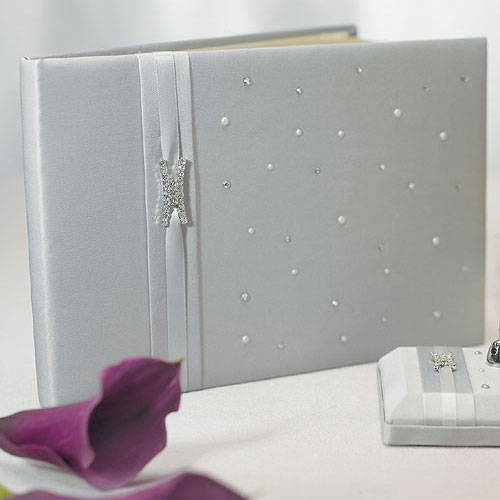 Platinum By Design Traditional Guest Book (Pack of 1)