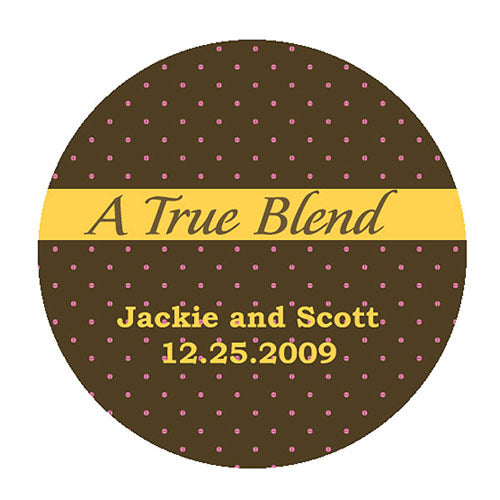 """A True Blend"" Stickers (Pack of 1)"