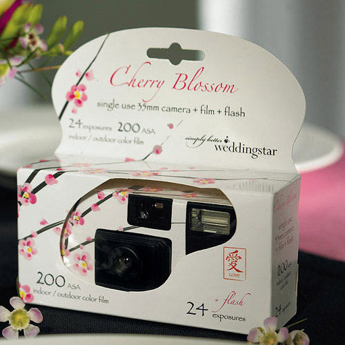 Disposable Camera with Flash – Cherry Blossom (Pack of 1)