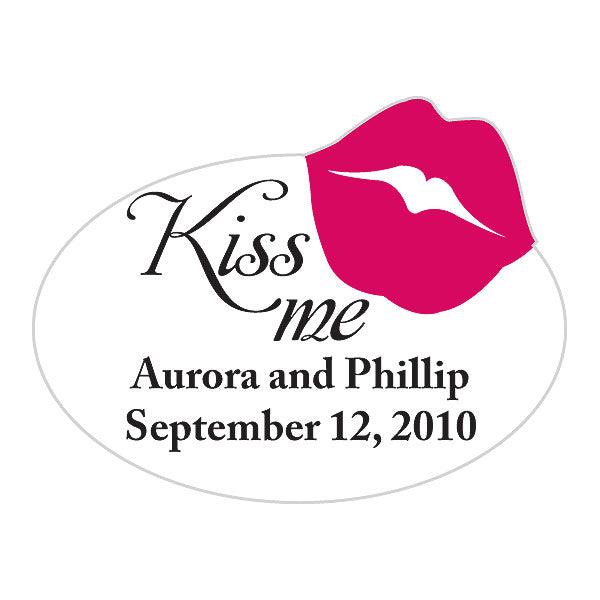 Kiss Me Sticker (Pack of 1)