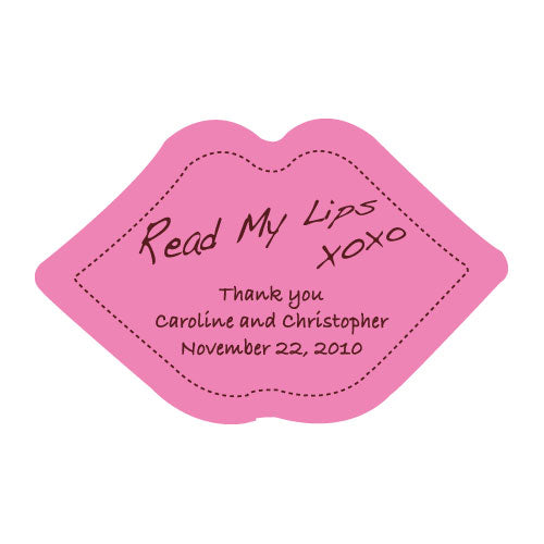 Read My Lips Sticker (Pack of 1)