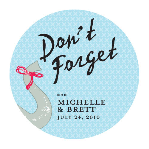 Don't Forget Elephant Sticker (Pack of 1)