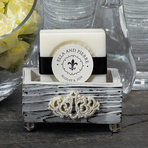 Vintage Shabby Chic Wedding Favor Boxes (6) (Pack of 6)