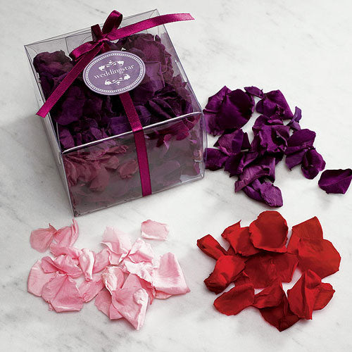 Preserved Natural Rose Petals Purple (Pack of 1)