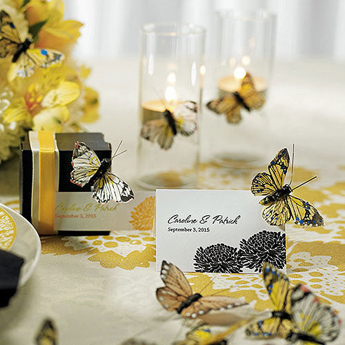 Small Hand Painted Butterfly (25) Neutral (Pack of 25)