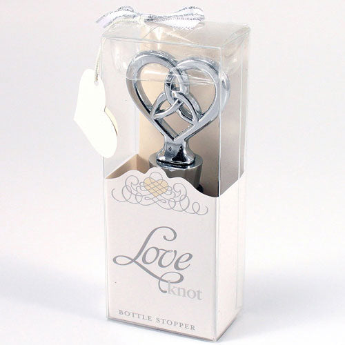 Love Knot Wine Stopper Wedding Favor Gift Boxed (Pack of 1)