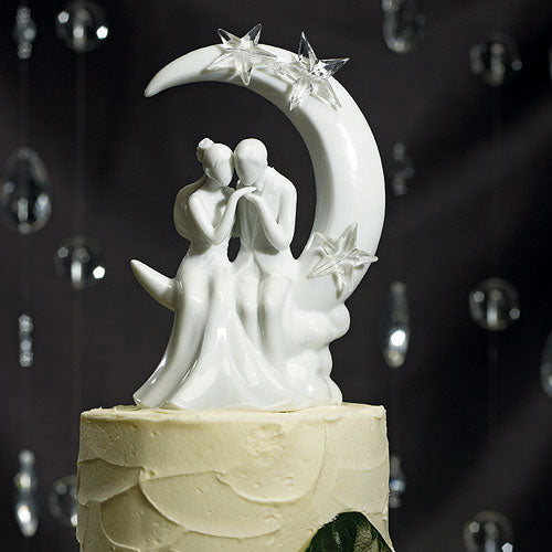 """Written in the Stars"" Bride and Groom Couple Figurine (Pack of 1)"