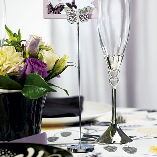 Butterfly Table Number Holder (6) (Pack of 6)