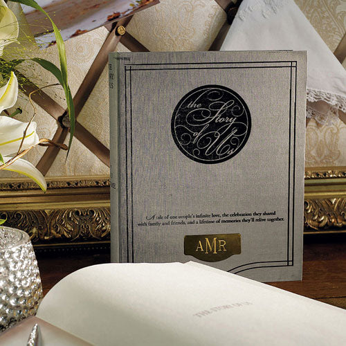 """Story of Us"" Alternative Guest Book and Box (Pack of 1)"