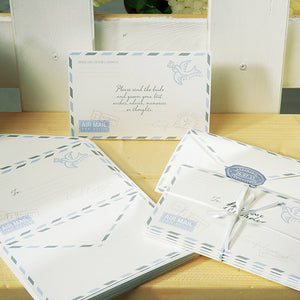 """Special Delivery"" Airmail Stationery Set (Pack of 25)"
