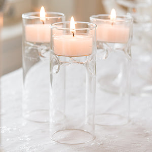 Blown Glass Miniature Tealight Luminaries (4) (Pack of 4)
