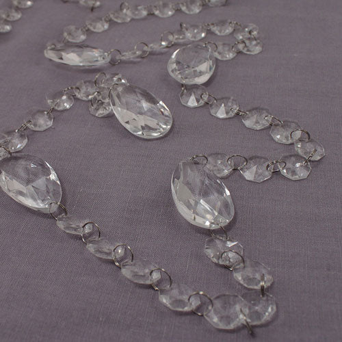Acrylic Crystal Garland with Prism Drops (Pack of 1)