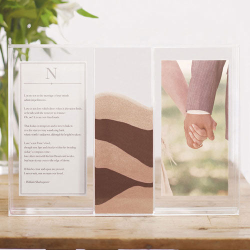 """Clearly Love"" Sand Ceremony Shadow Box (Pack of 1)"