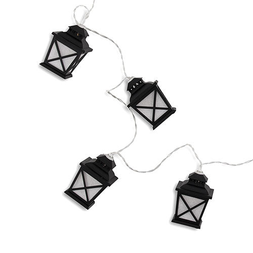 Decorative Battery-Operated LED String Lights - Vintage Streetlamp  (Pack of 1)
