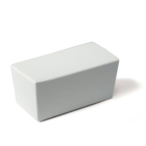 White Favor Boxes Standard Truffle Box (Pack of 1)
