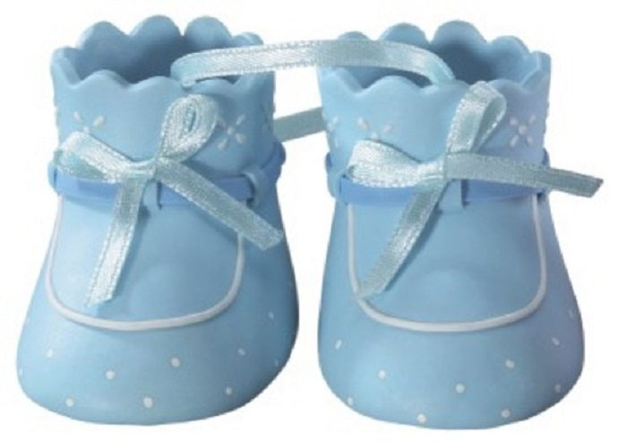 Baby Shower Cake Decoration Boy Booties