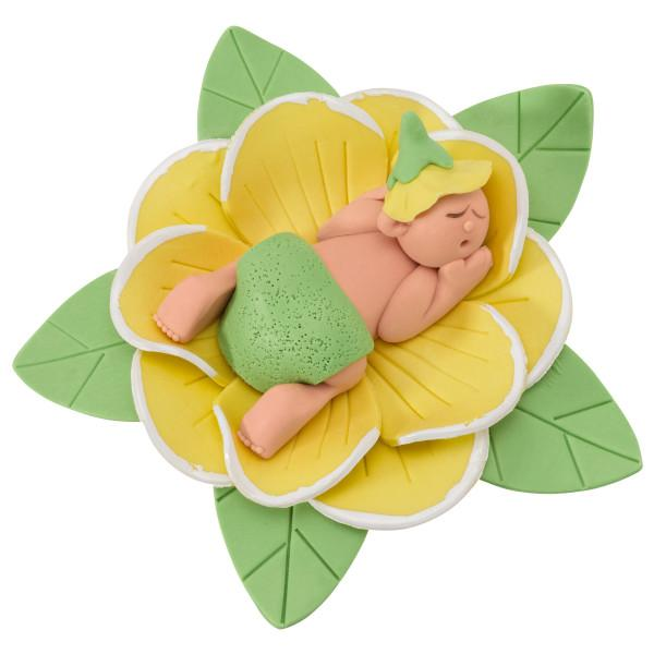 Baby Shower Cake Topper Decoration Baby Bud Caucasian
