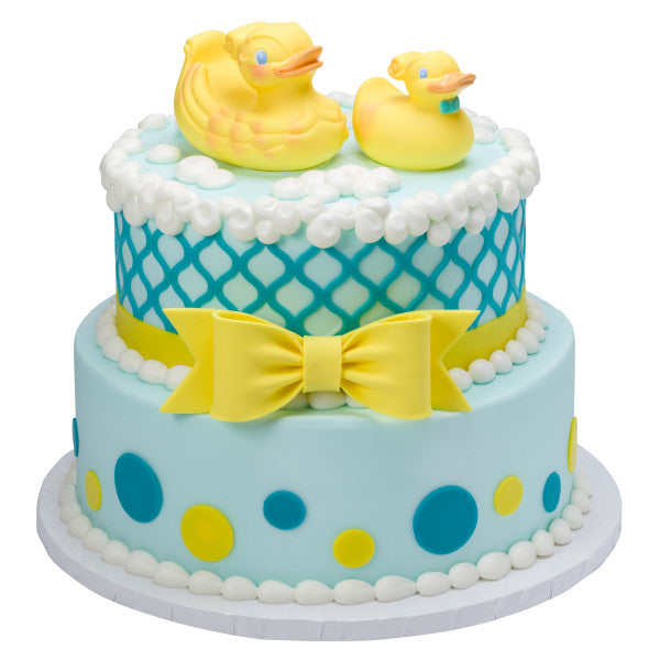 Duckies Baby Shower Cake Topper Decoration