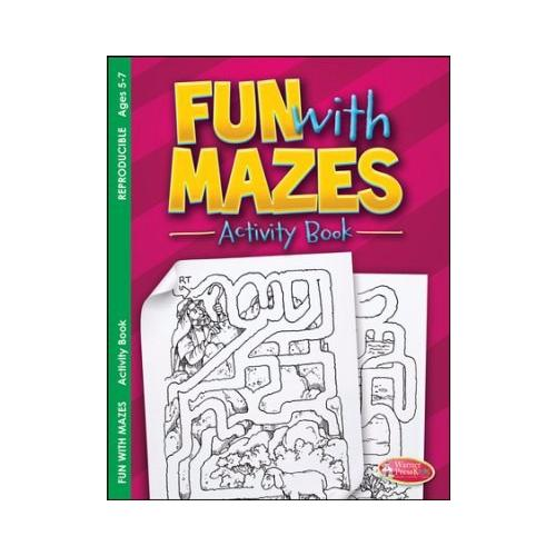 Fun With Mazes Activity Book (Ages 5-7)