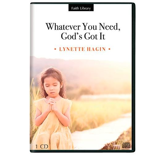 Audio CD-Whatever You Need  God's Got It