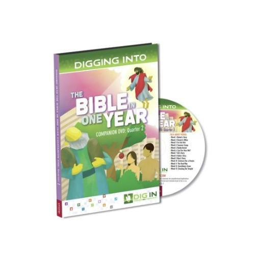 DVD-Dig-In: Bible In One Year Companion DVD-Quarter 2