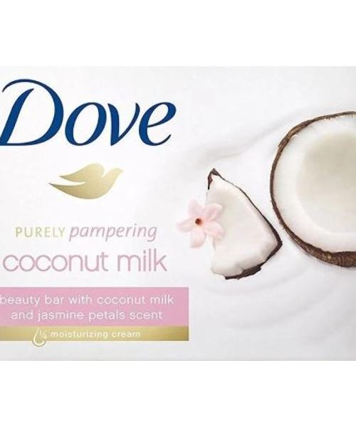 Dove Coconut Milk Soap 135gm - CASE OF 48