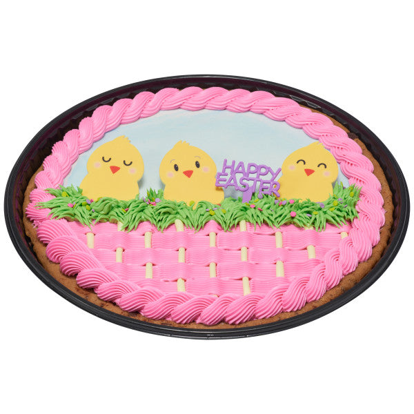 Happy Easter Cake Topper Decoration Cupcake Pics Pink Green Purple