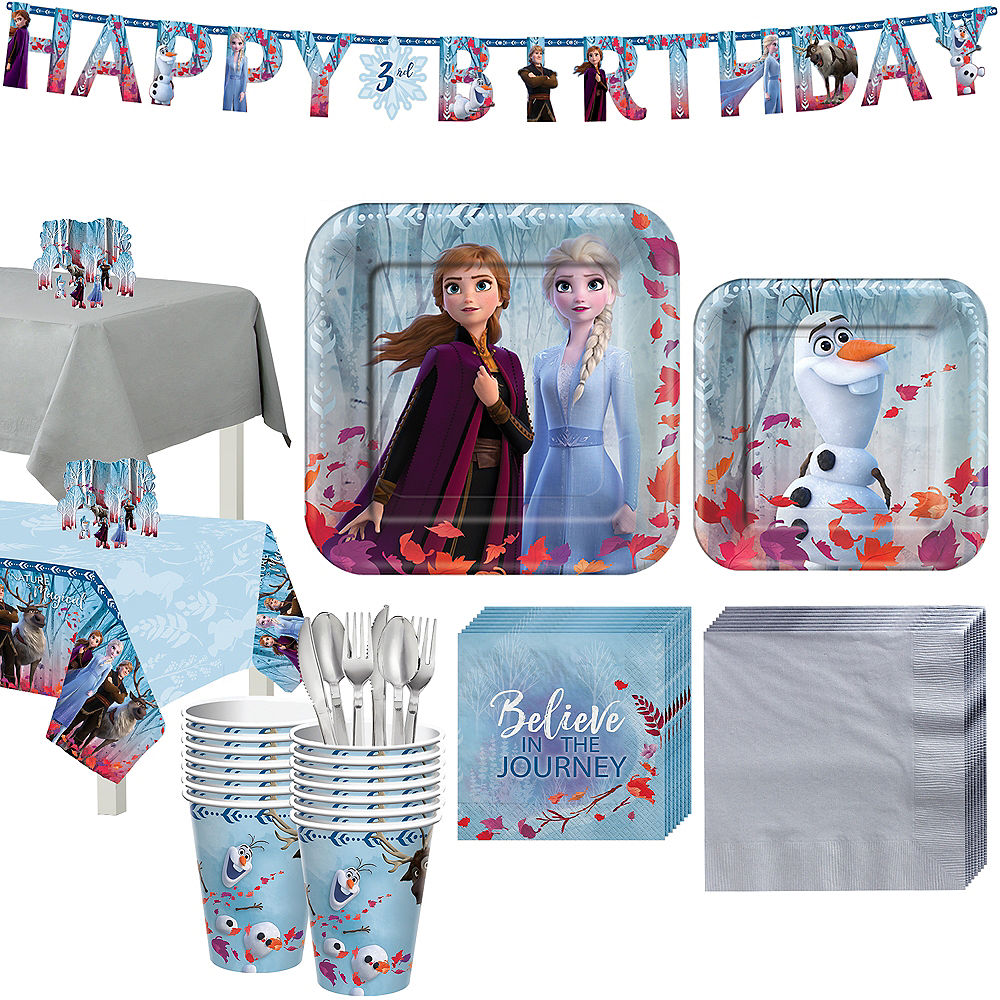 Frozen 2 Partyware for 16 Guests