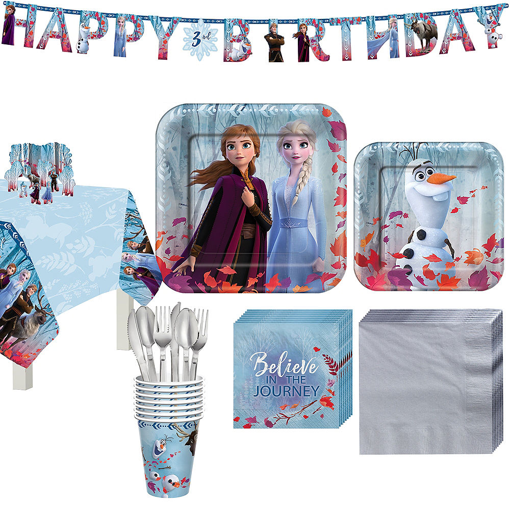 Frozen 2 Partyware for 8 Guests