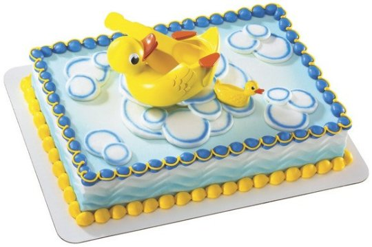 Splashin Duckies Cake Topper Decoration