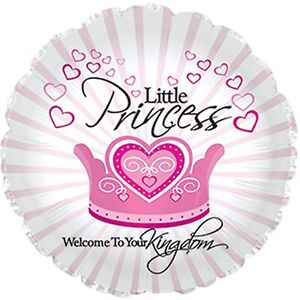 Little Princess Foil Mylar Balloon