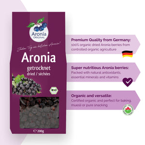 Dried Aronia Berries benefits