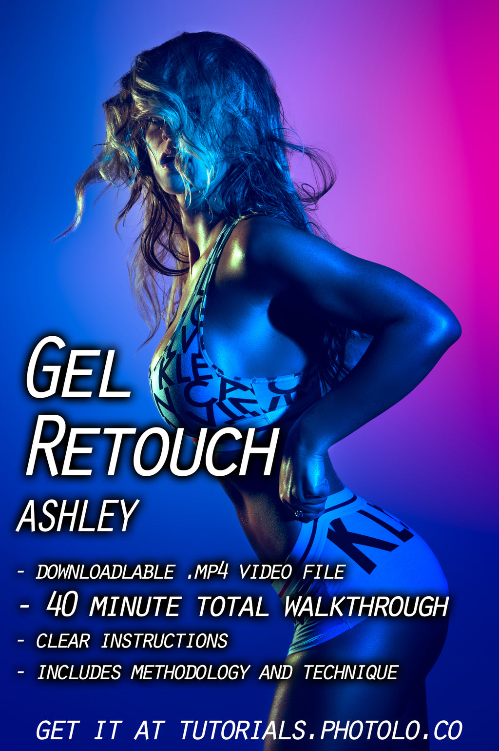 Gel Retouch: Ashley