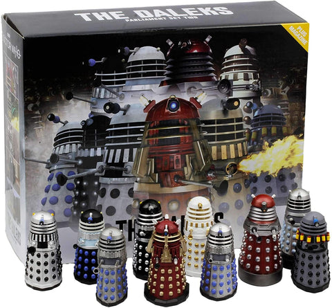 DOCTOR WHO: MEGA Figurines - Dalek Parliament Part 2