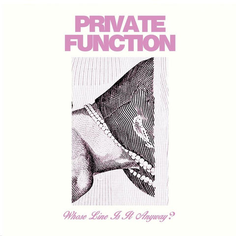 PRIVATE FUNCTION Whose Line Is It Anyway? CD 2020