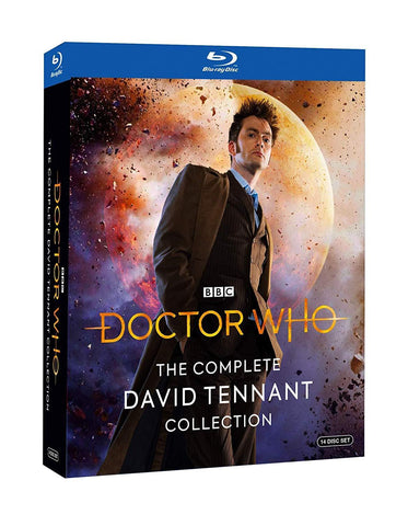 DOCTOR WHO: The Complete David Tennant - 852 Entertainment