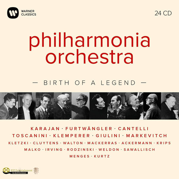 PHILHARMONIA ORCHESTRA Birth of a Legend - 852 Entertainment
